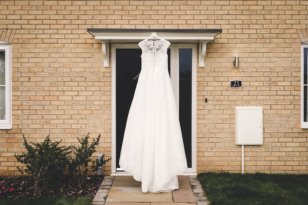 Wedding dress photography. Dress from Wed2be Northampton