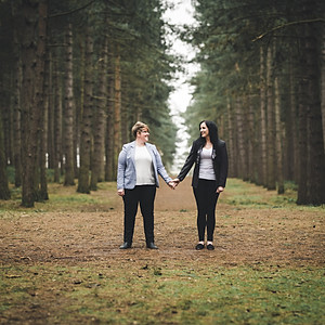 Norfolk Photography / Lisa & Lucy's Engagement Shoot