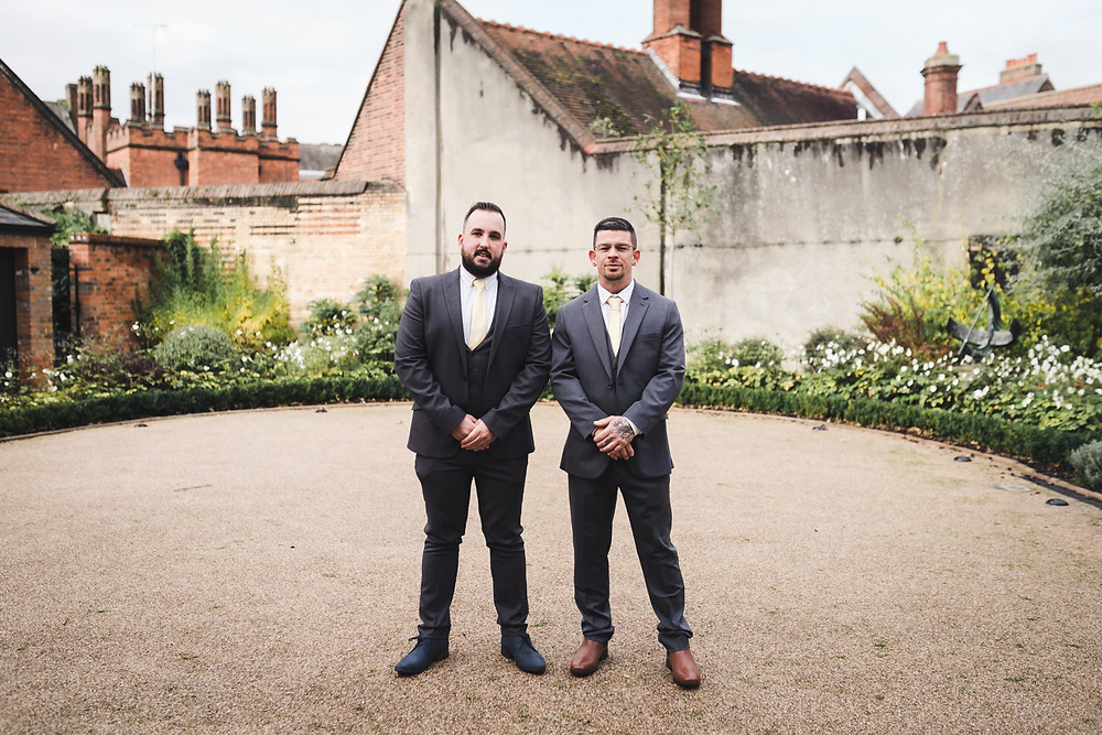 Groom & best man photos