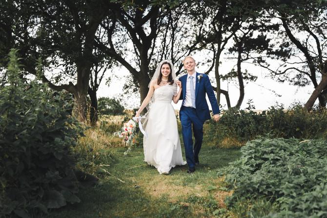 Roya & Toby | Scaldbeck House | Morston Wedding Photographer | Ben Chapman Photos