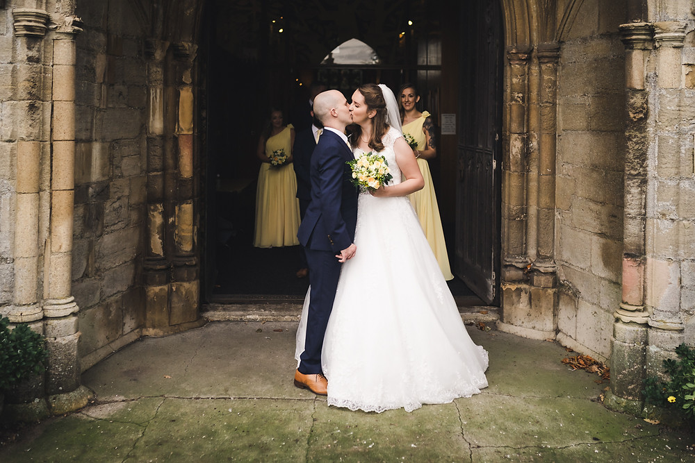 All Saints Church Holbeach Wedding Photo