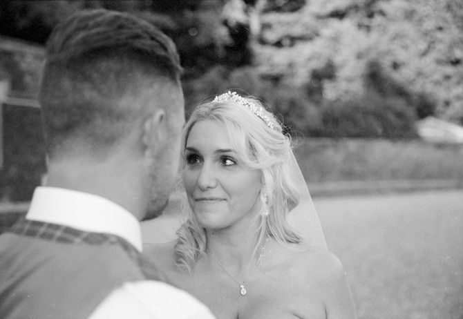 Film wedding photography in Kings Lynn / Richard & Lydia at The Ffolkes