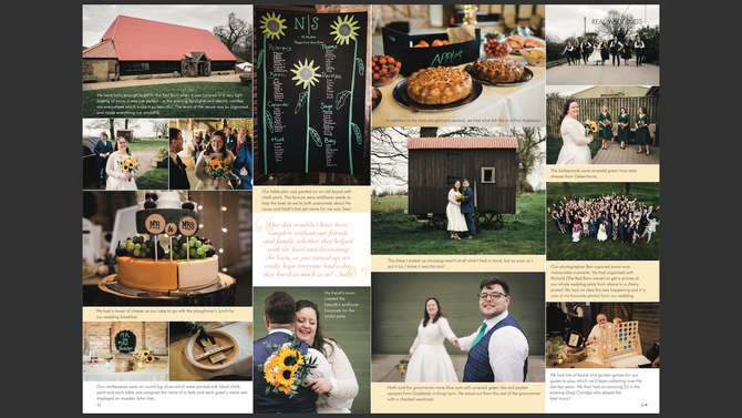 Sally & Nathan | The Red Barn | Wedding Photography | Your East Anglian Wedding Magazine Feature
