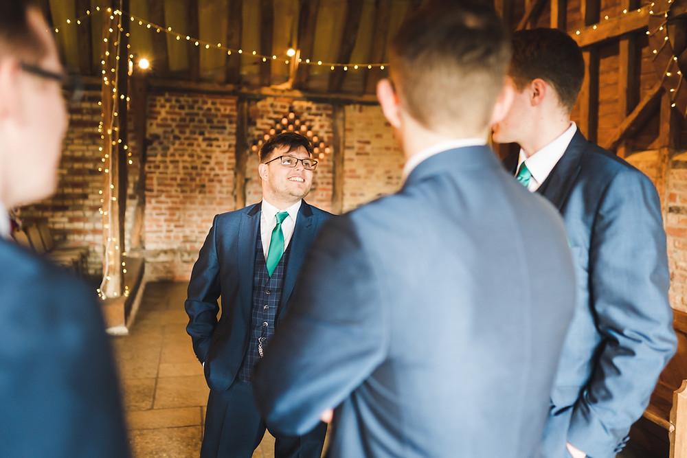 groomsman banter