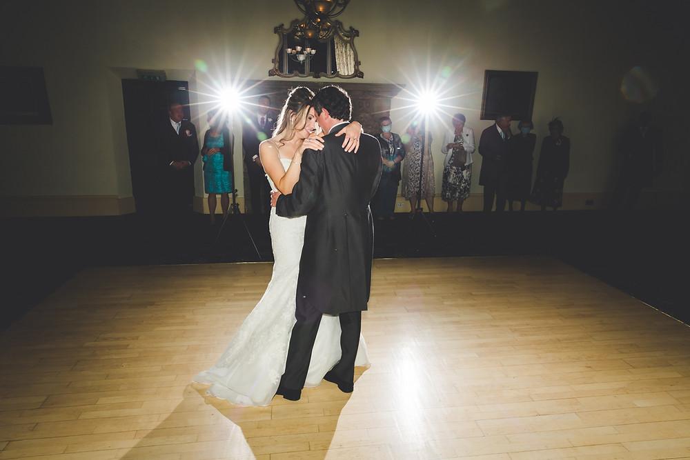 Wedding 1st dance photo