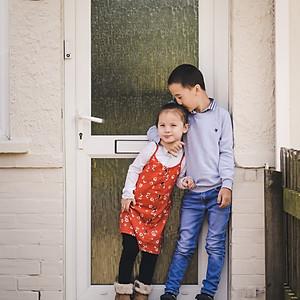 Norfolk Family Photographer / Ann & Joe's Doorstep Shoot