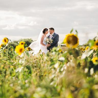 The Thatch Barn Wedding Photo