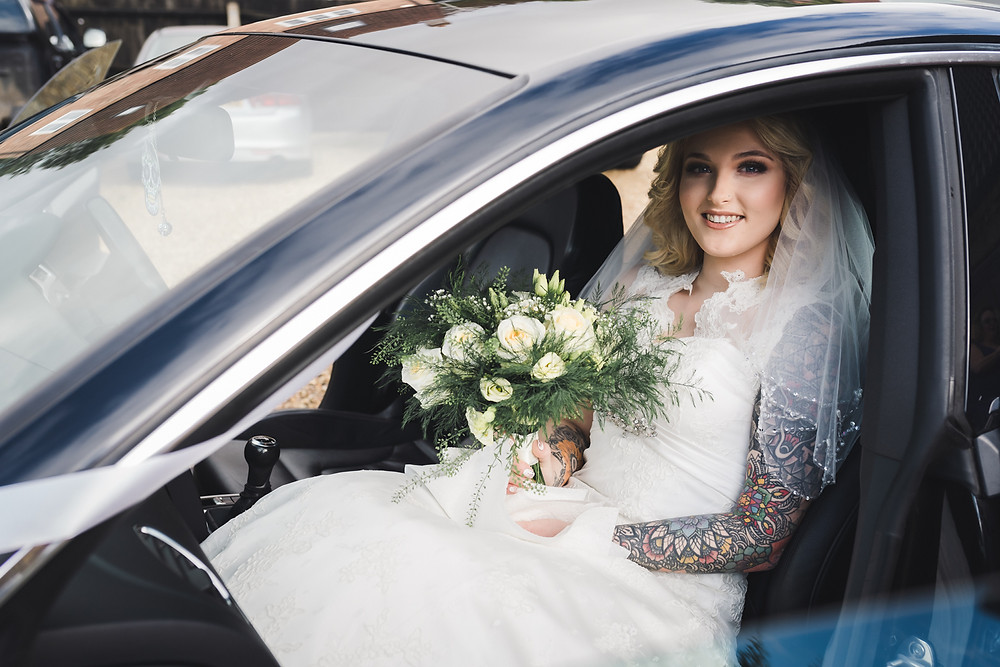 Audi wedding car