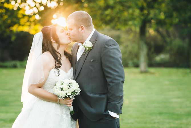 Jess & Niall's alfresco Stradsett Hall Wedding