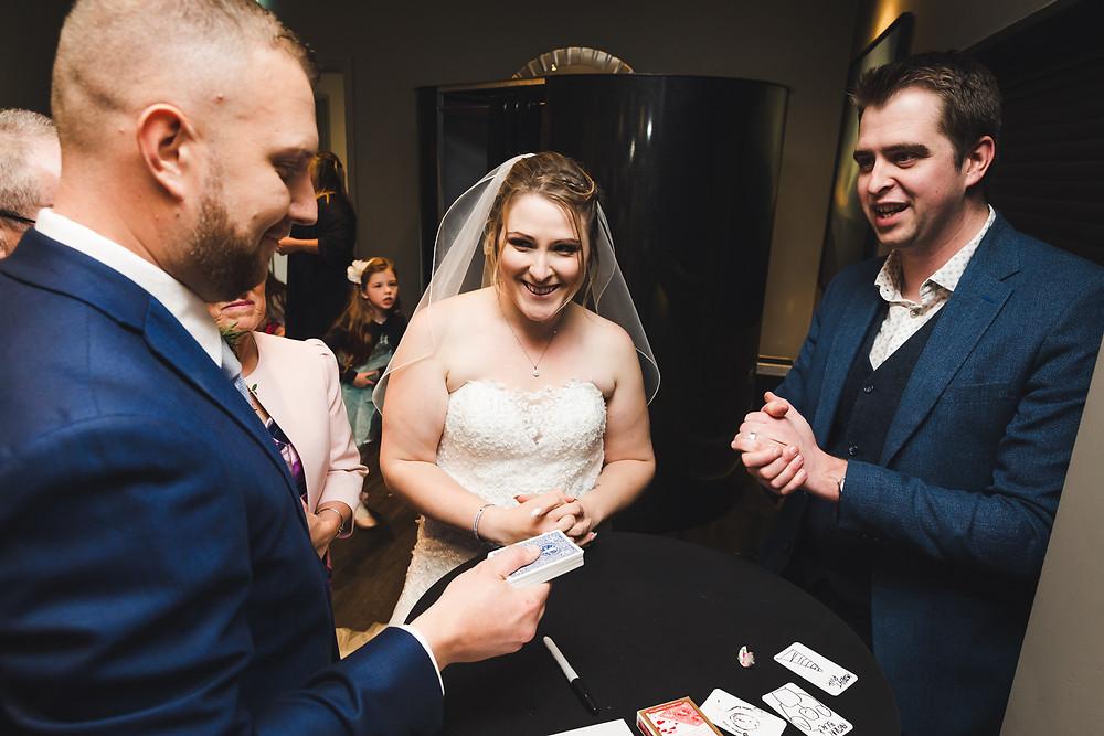 Dean Odell Mind Reader, Wedding magician