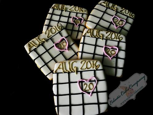 Special Date Calendar Cookies