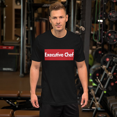 Executive Chef Short-Sleeve Unisex T-Shirt