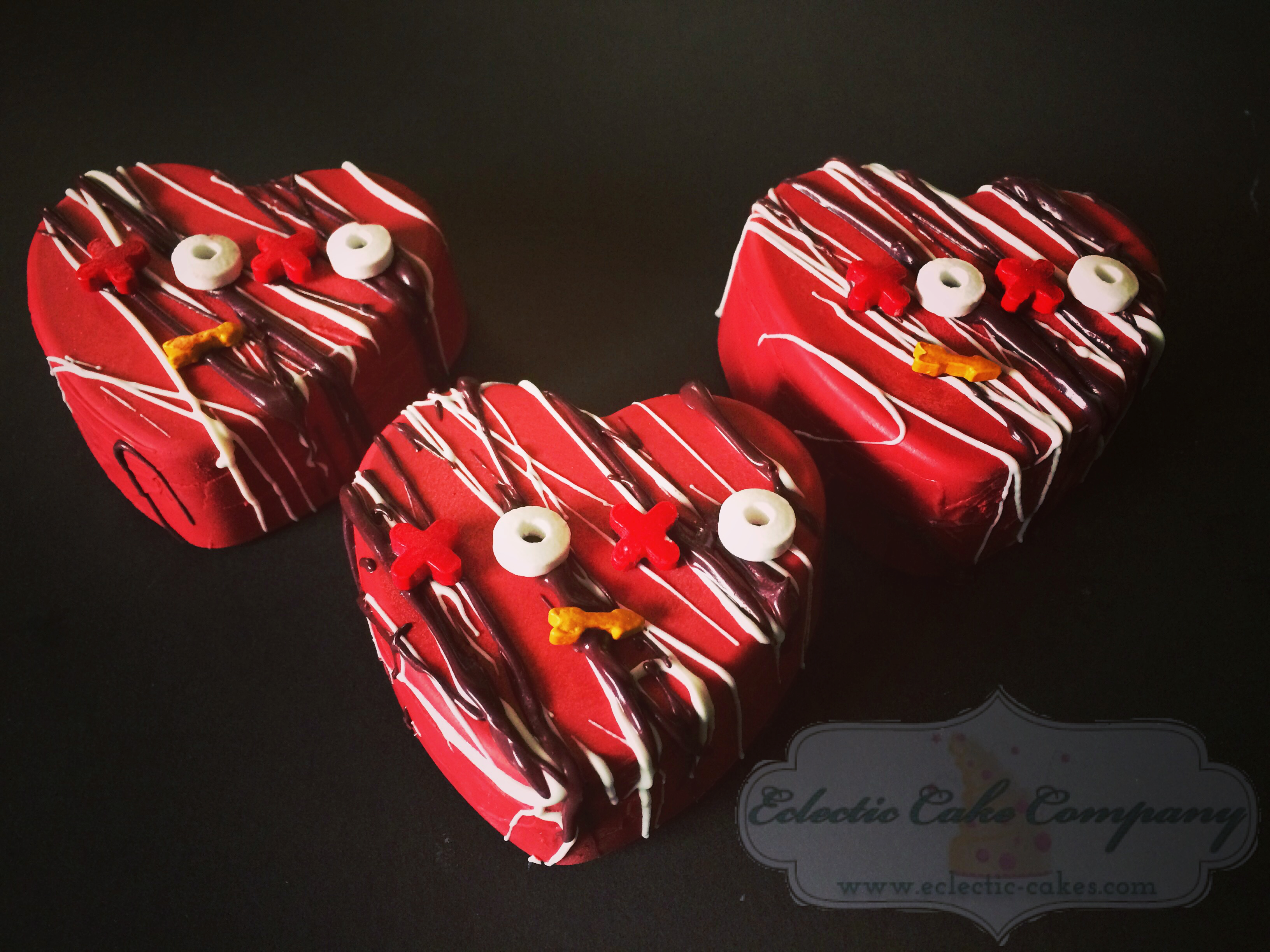 Heart Chocolate Oreos