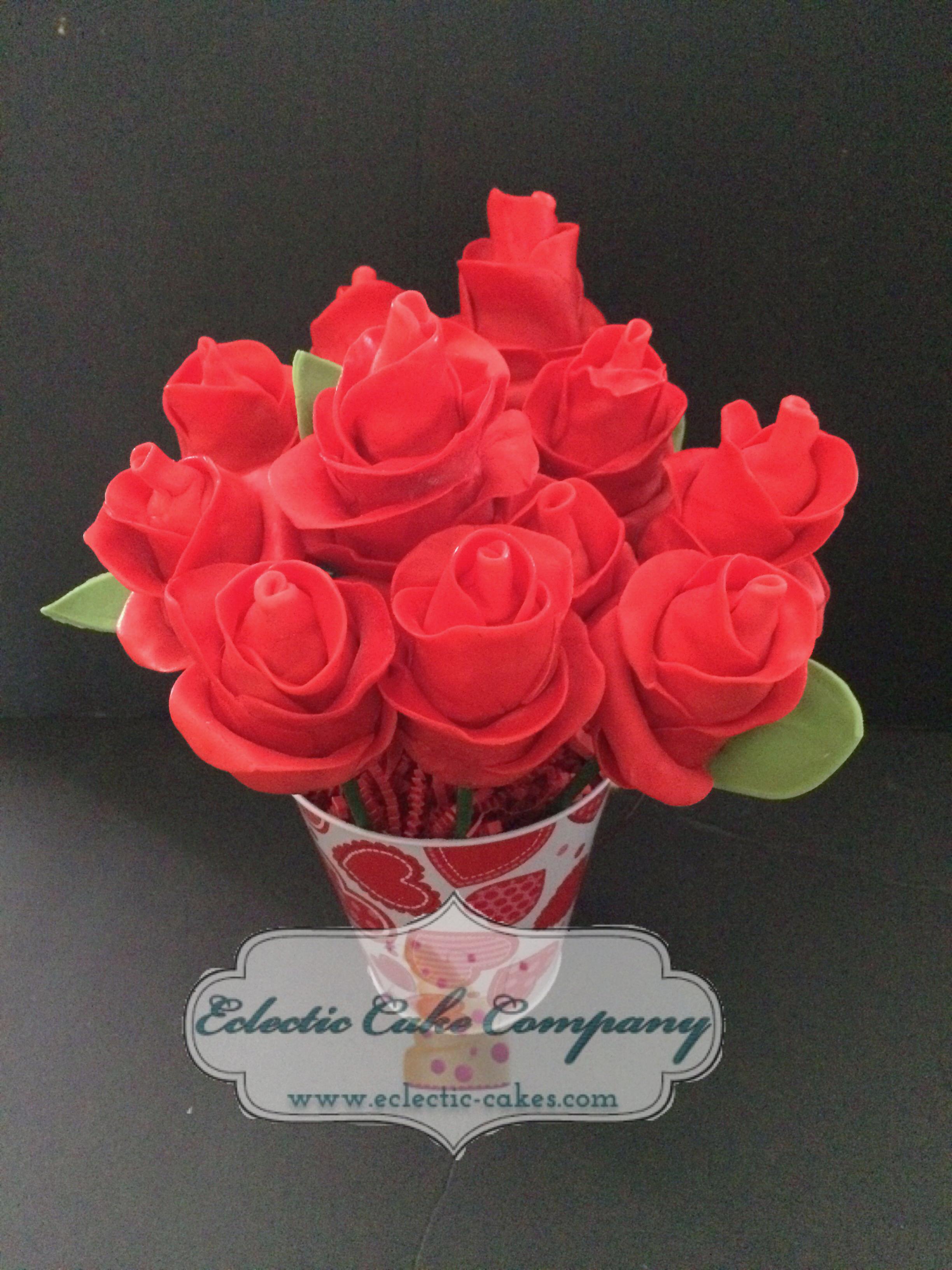 Red Rose Pops