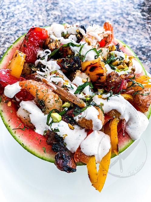 Watermelon Bowl Recipe