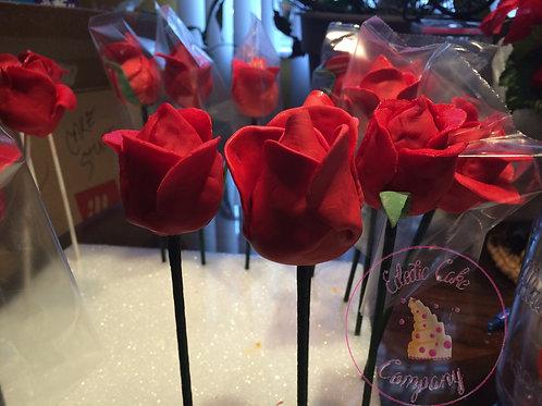 Long Stemmed Rose Pops