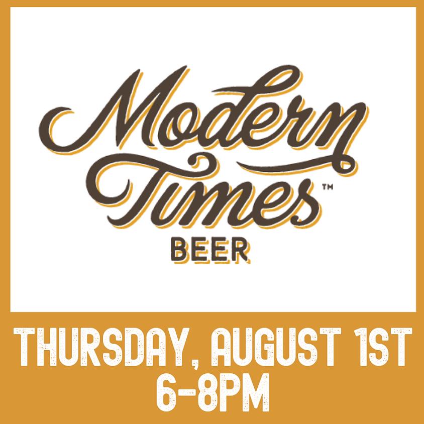 Modern Times Beer tasting event