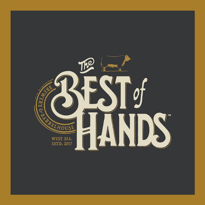 The Best of Hands Barrelhouse tasting event