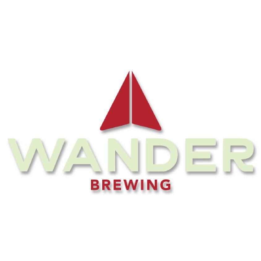 Wander Brewing tasting event