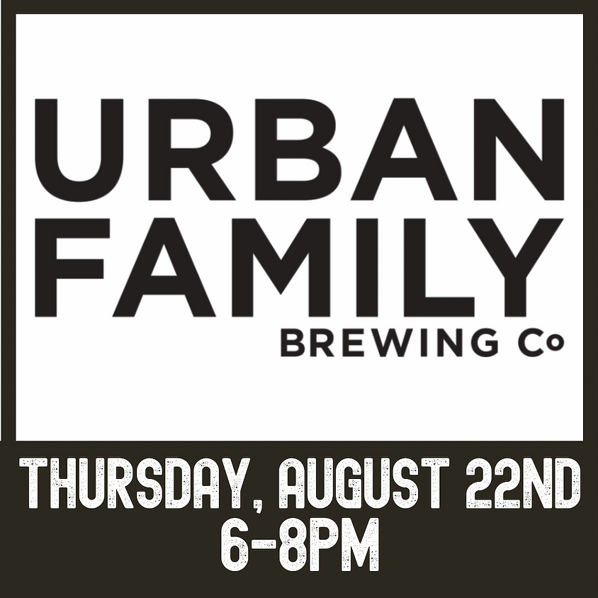 Urban Family Brewing tasting event