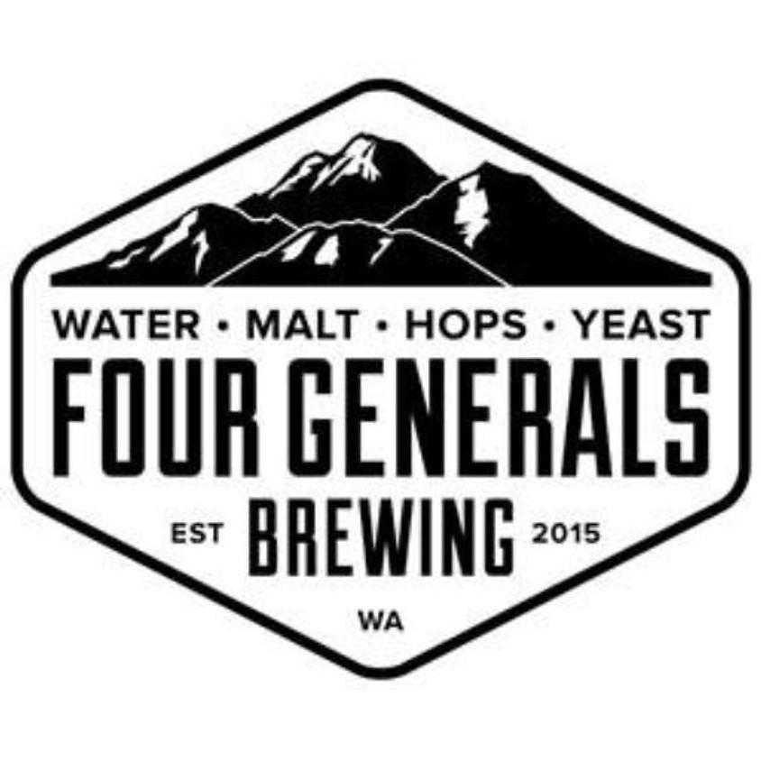 Four Generals Brewing tasting event