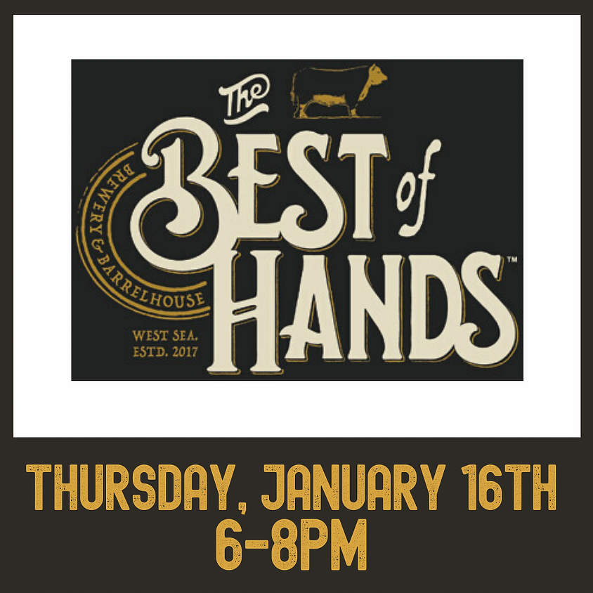 Best of Hands Barrelhouse brewers night