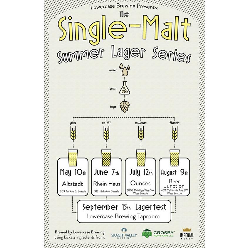 "Lowercase Brewing ""Single-Malt Summer Lager Series"""