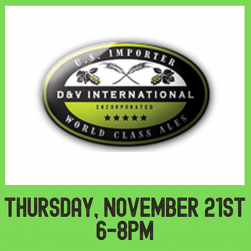 D&V Imports tasting event
