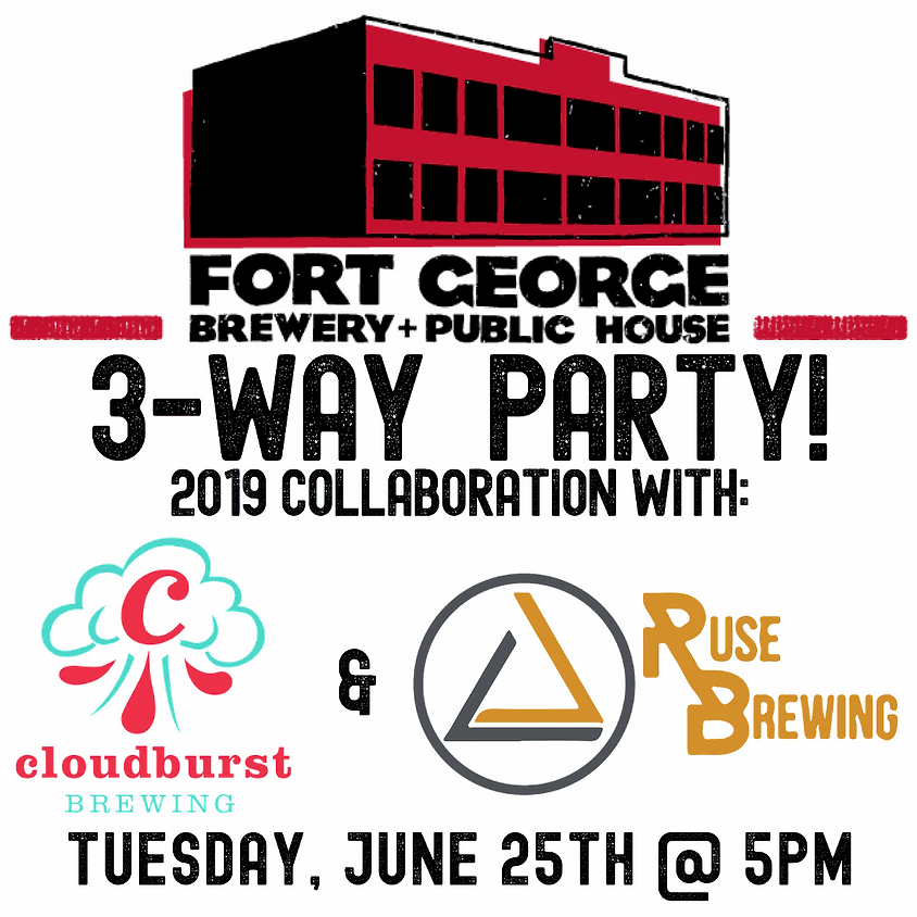 Fort George 3-Way IPA Party!
