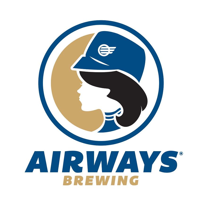 Airways Brewing tasting event