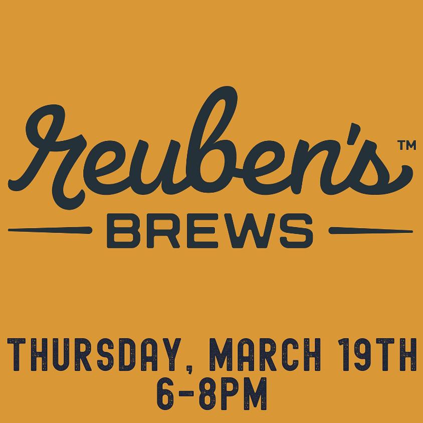 Reuben's Brews tasting event!