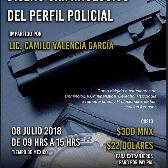 Diseño criminológico del perfil policial
