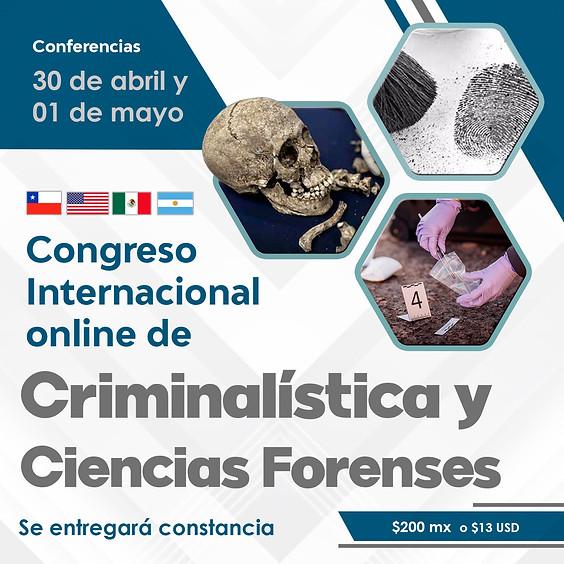 Congreso Internacional online de Criminalística y Ciencias Forenses