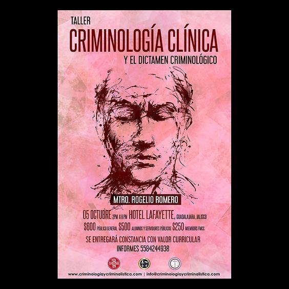 Criminología clínica y dictamen criminológico