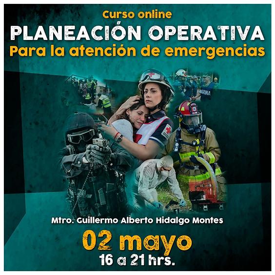 Planeación operativa para la atención de emergencias