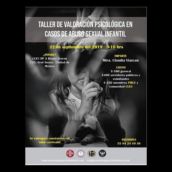 Valoración psicológica en casos de Abuso Sexual infantil
