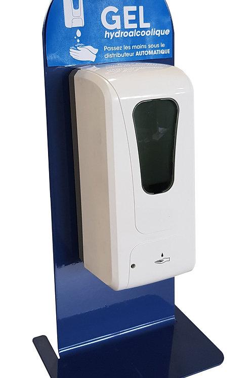 Distributeur de gel hydro-alcoolique sans contact infrarouge - DISTRIgel