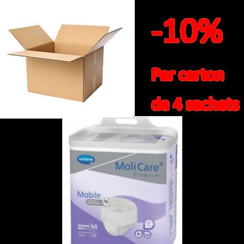 Hartmann Molicare Mobile Medium 8 Gouttes / 1 carton de 4 sachets