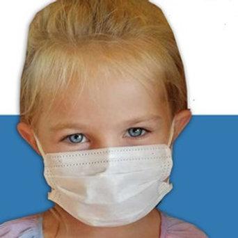 Masque chirurgical - Enfant - Type II Haute Filtration 98% - Sachet de 7 masques