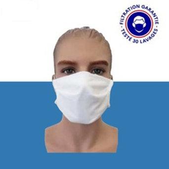 Masque Lavable 30 fois (Testé par la DGA 90%)