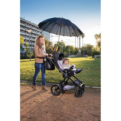 Porte parapluie universel (poussette, fauteuil roulant, rollator...)