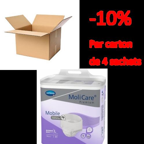 Hartmann Molicare Mobile Large 8 Gouttes / 1 carton de 4 sachets