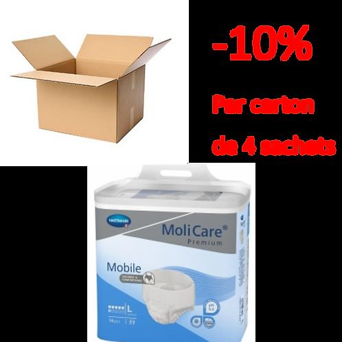 Hartmann Molicare Mobile Large 6 Gouttes / 1 carton de 4 sachets