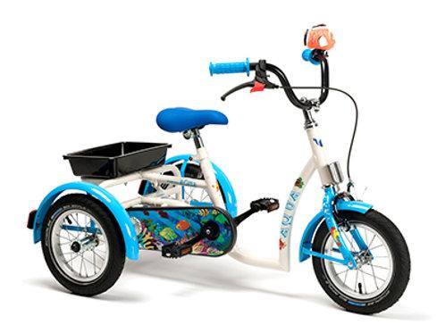 Tricycle Enfant Modèle 2202 - Aqua (à partir de 3 ans)