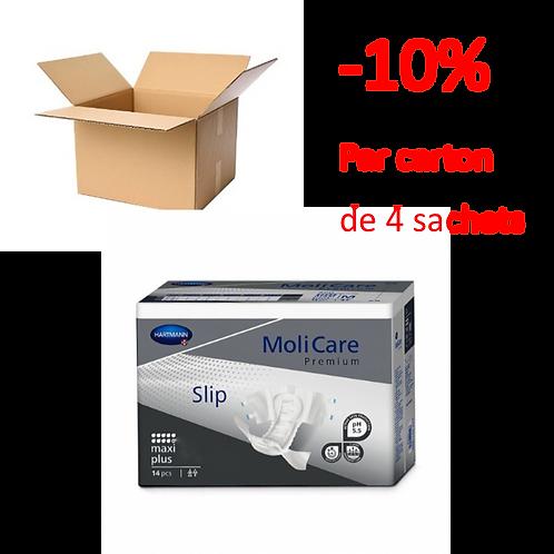 Hartmann Molicare Slip / Change Complet Extra Large Maxi Plus / 1 carton de 4 sa
