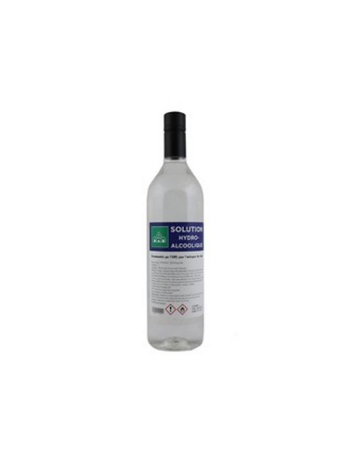 Solution Hydro-Alcoolique - Bouteille de 1 litre (1000ML)
