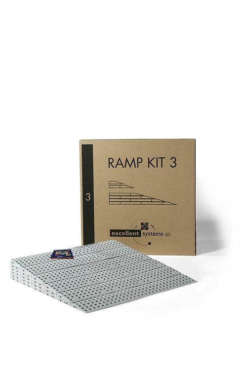 Rampe Accessibilité Kit N°3 (7,5 à 11,5 cm)