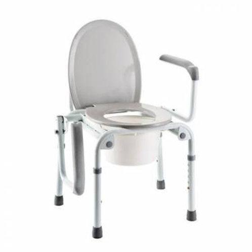 Chaise percée (garde-robe) et cadre de toilette