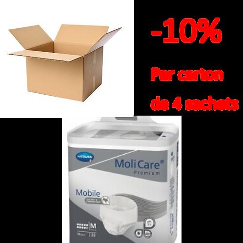 Hartmann Molicare Mobile Medium 10 Gouttes / 1 carton de 4 sachets