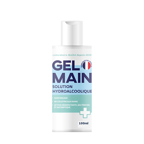 GEL MAINS SOL. HYDROALCOOLIQUE 100ML